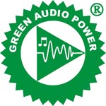 Powersoft Green Audio Logo